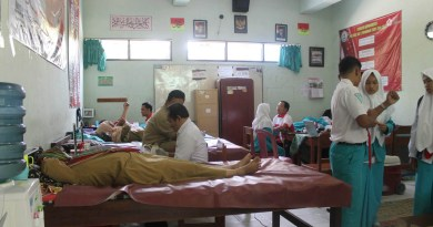 Donor Darah PMR Wira MAN 2 Ponorogo.