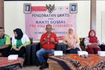 SPM Dan Bakti Sosial PMR MAN 2 Ponorogo