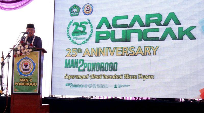 Anniversary MAN 2 Ponorogo ke-25 Bersama Wakil Bupati Ponorogo