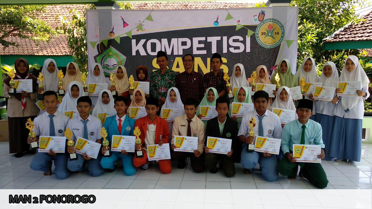 Raihan Juara MAN 2 Ponorogo di KSM Tingkat Kabupaten