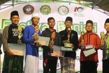 Hadroh MAN 2 Ponorogo Juara 3 di IAIN Ngawi