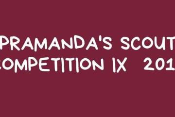 PRAMANDA'S SCOUT COMPETITION IX 2019