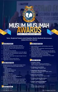 Muslim Muslimah Award 2020