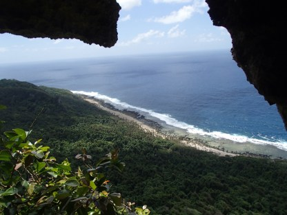 View from Rat's Cave over Lokupo beach