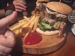 Meet Juicy Lucie, the biggest burger in town!