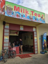 Bubble tea in Tonga! Woop woop!