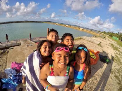Some of our happy Malolo swim babies after class (Pic thanks to Pou Panuve)