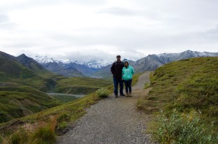And visited Denali National Park