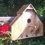 Win hand-made bird box from WhisperLeaf Workshop
