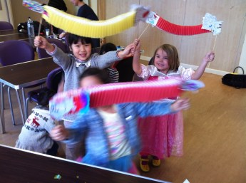 Chinese New year Celebration session at Zion Community Centre in Hulme