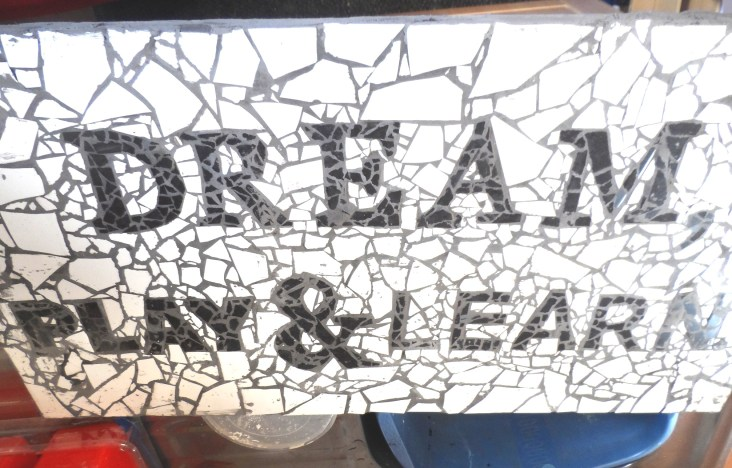 Dream Play and Learn Mosaic for Darley Avenue Surestart