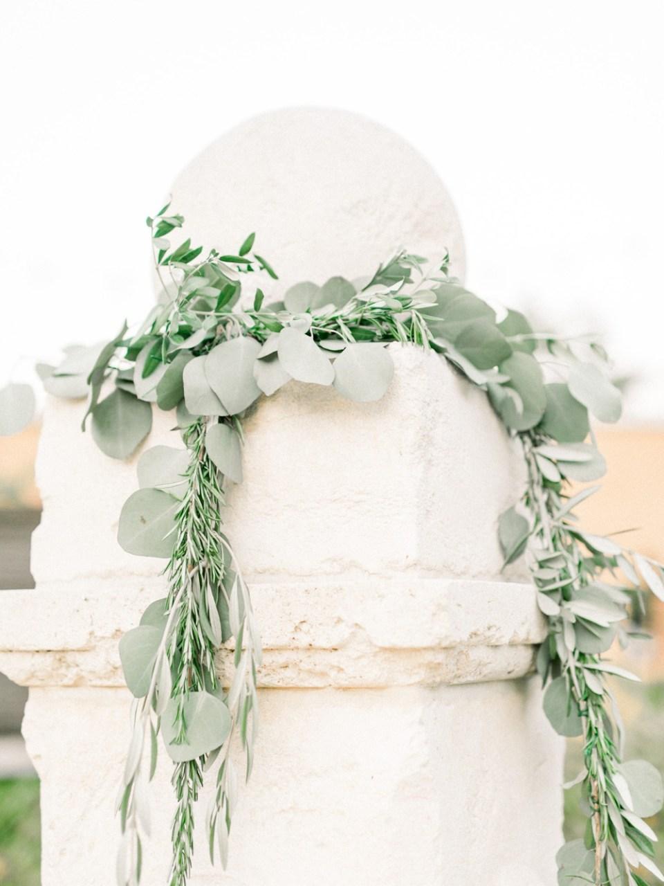 los robles greens wedding fountain