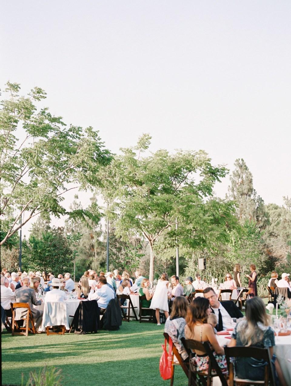 los robles greens wedding reception