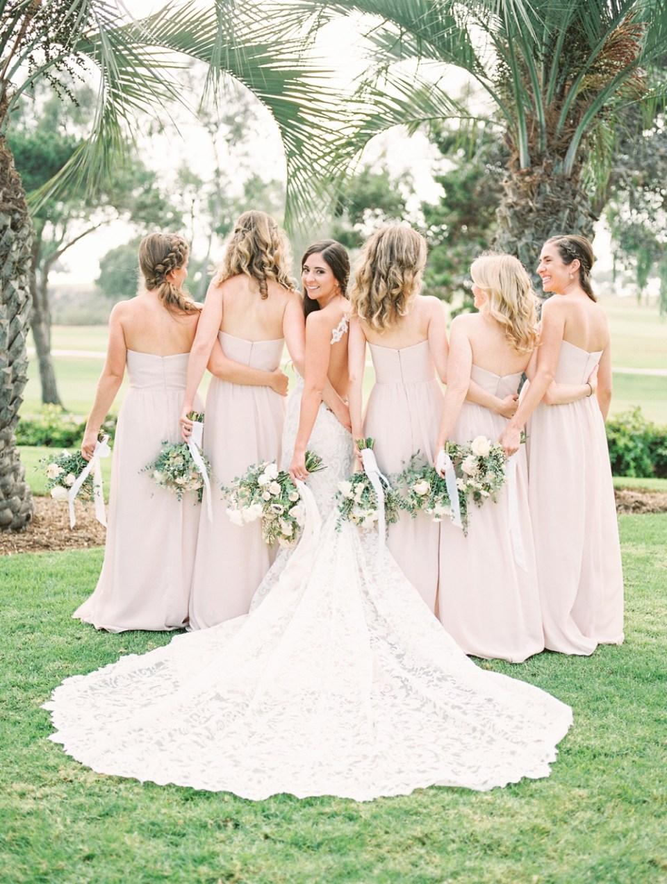 Bridesmaids at Hilton La Jolla Torrey Pines Wedding
