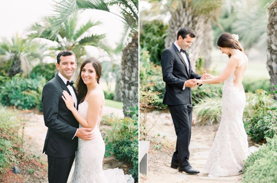 Hilton La Jolla Torrey Pines Wedding First Look