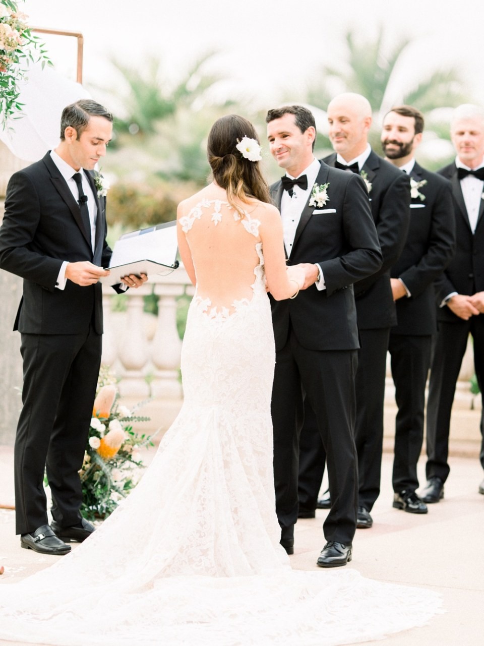 Hilton La Jolla Torrey Pines Wedding Ceremony