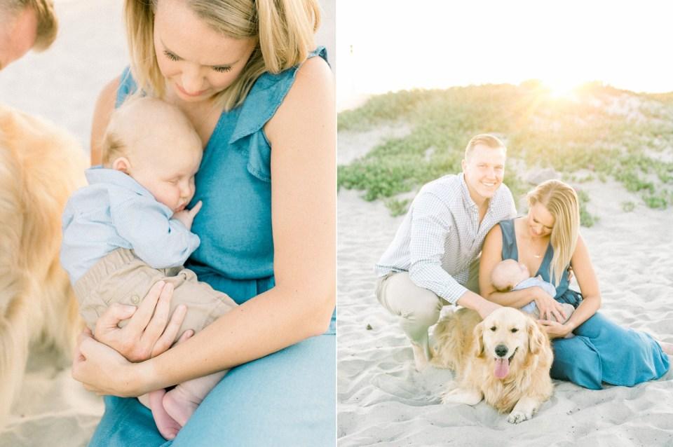 Coronado Family Photos With Dog