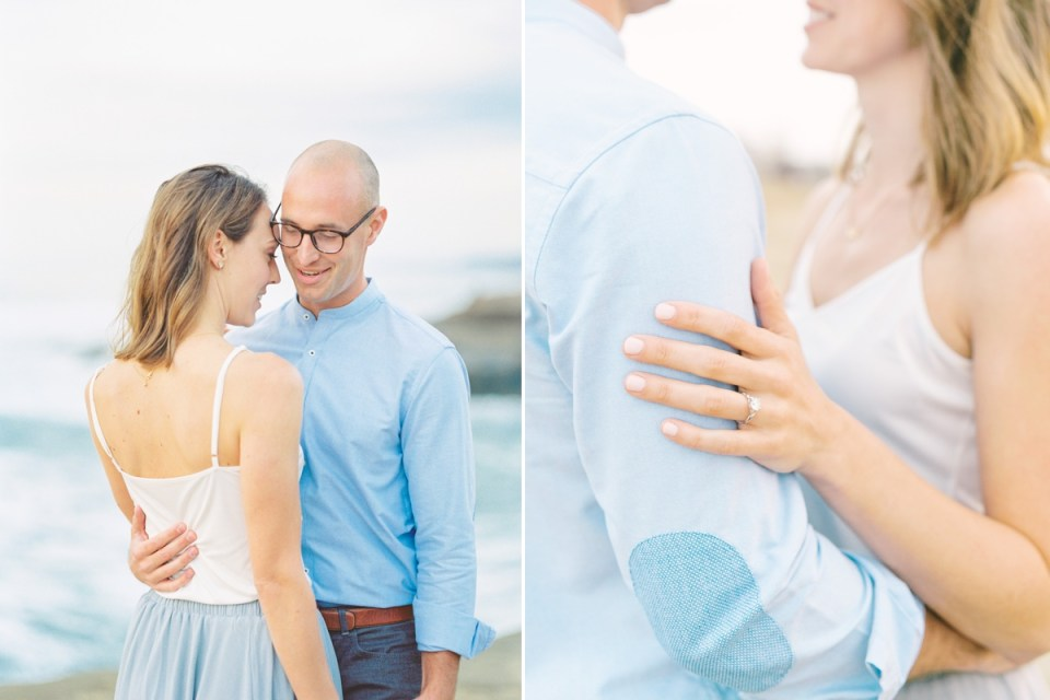 Sunset Cliffs Engagement At The Arch