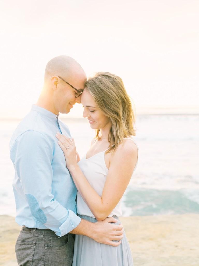 Sunset Cliffs Engagement Photographer San Diego