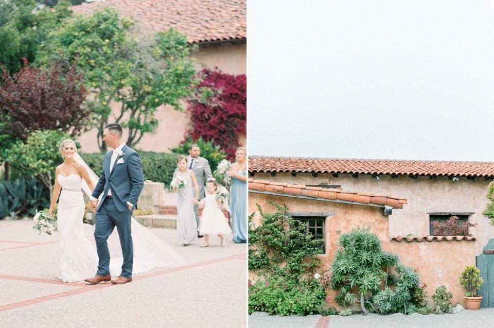 Carmel Mission Monterey Wedding Venue