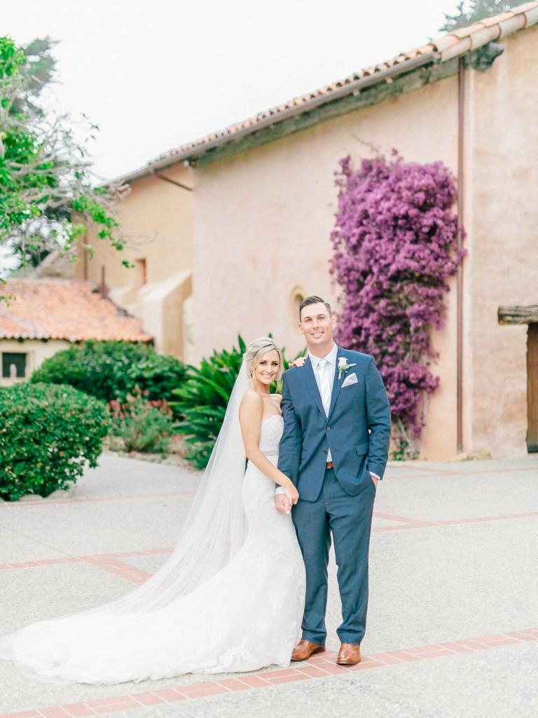 Monterey Wedding Venue | Carmel Mission And Naval Postgraduate School Club Del Monte