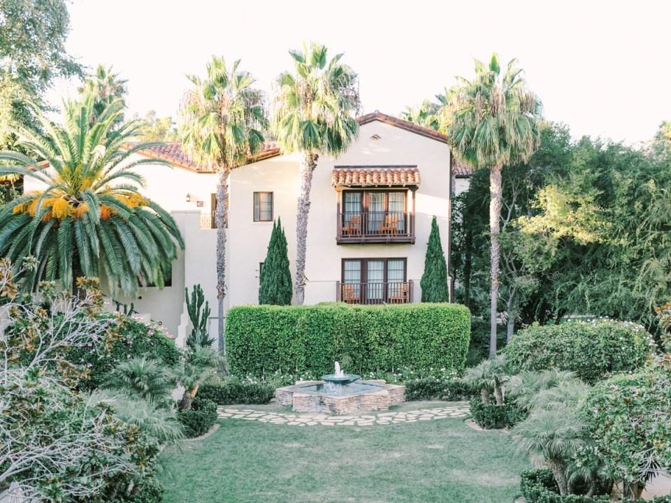 Estancia La Jolla Wedding Venue In San Diego Garden Courtyard