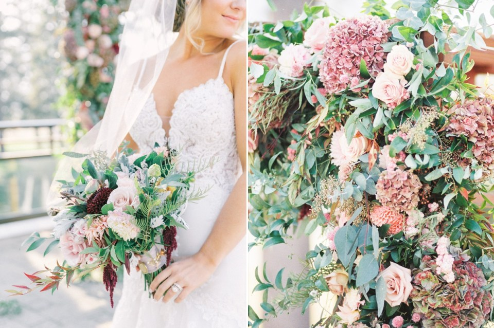 Dusty Rose Wedding At The Resort At Squaw Creek In Lake Tahoe