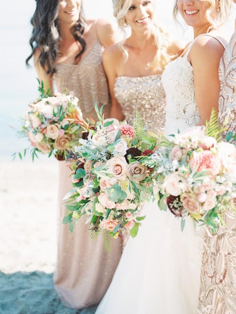Bridesmaids at Lake Tahoe Wedding