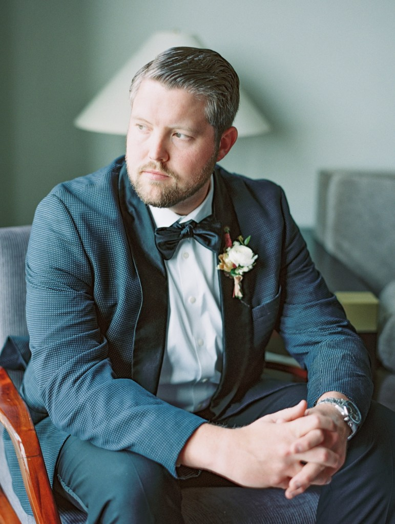 Groom Getting Ready | Sagamore Pendry Wedding Photos In Baltimore, Maryland