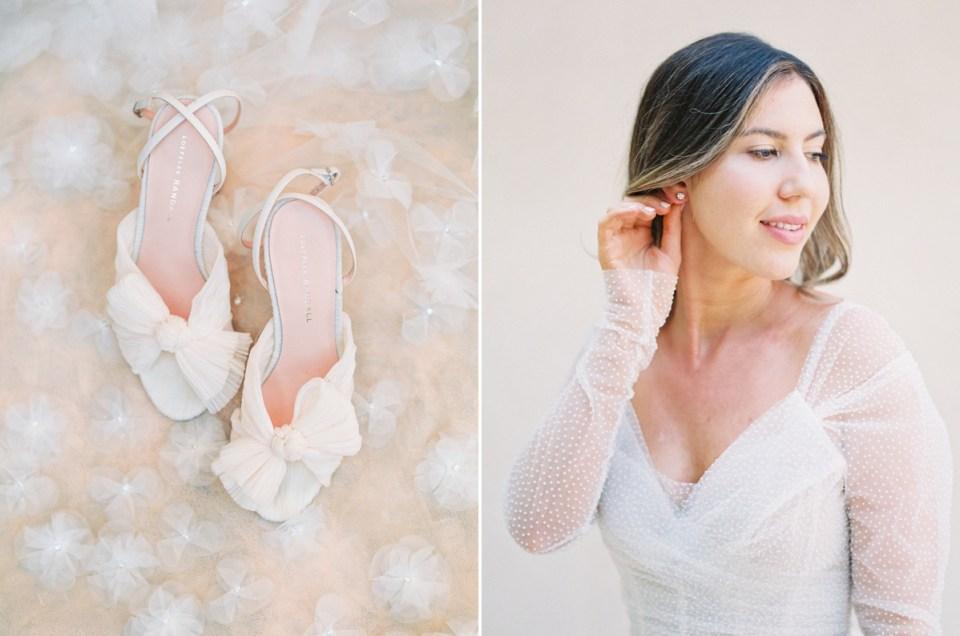 Strappy Wedding Heels | Orange County Jewish Wedding