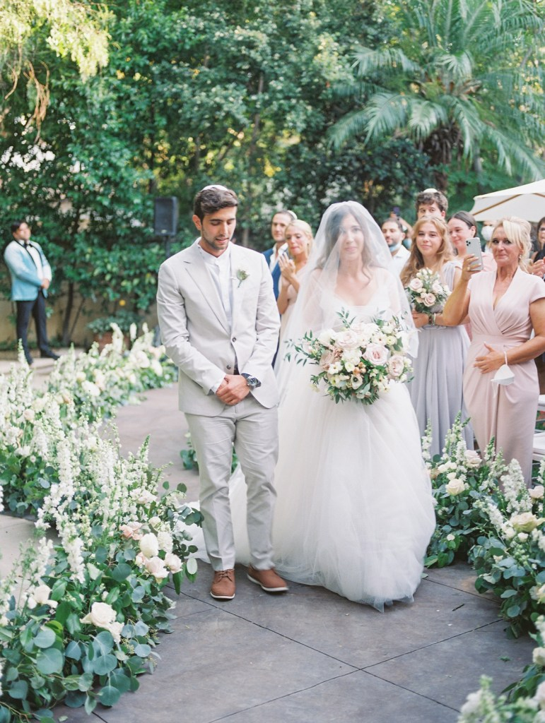 Jewish Wedding in Orange Country, CA | shot on film by Wedding Photographer Many Ford