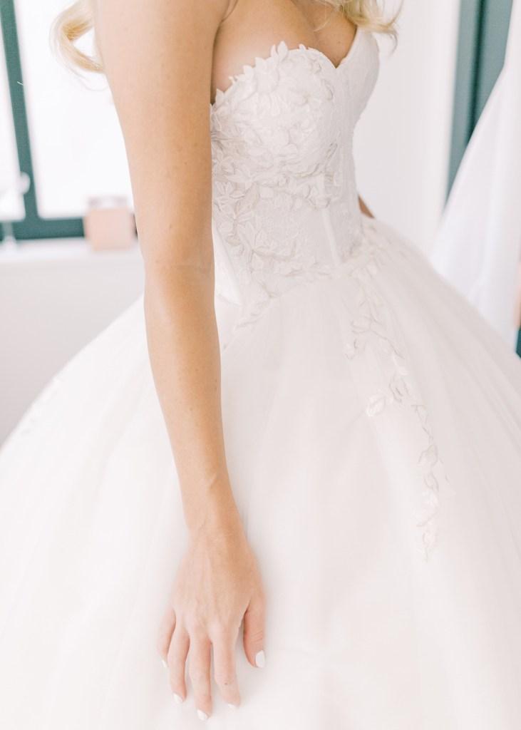 Adam Zohar Bridal Gown | | Shot on film by San Diego photographer, Mandy Ford