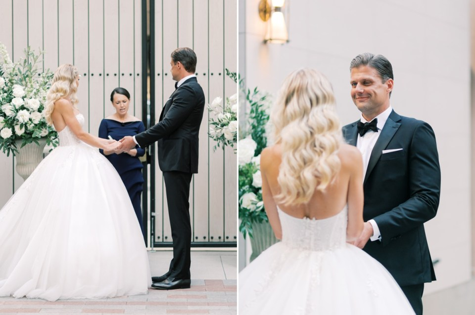 Wedding At The Guild Hotel | Shot on film by Mandy Ford Photography