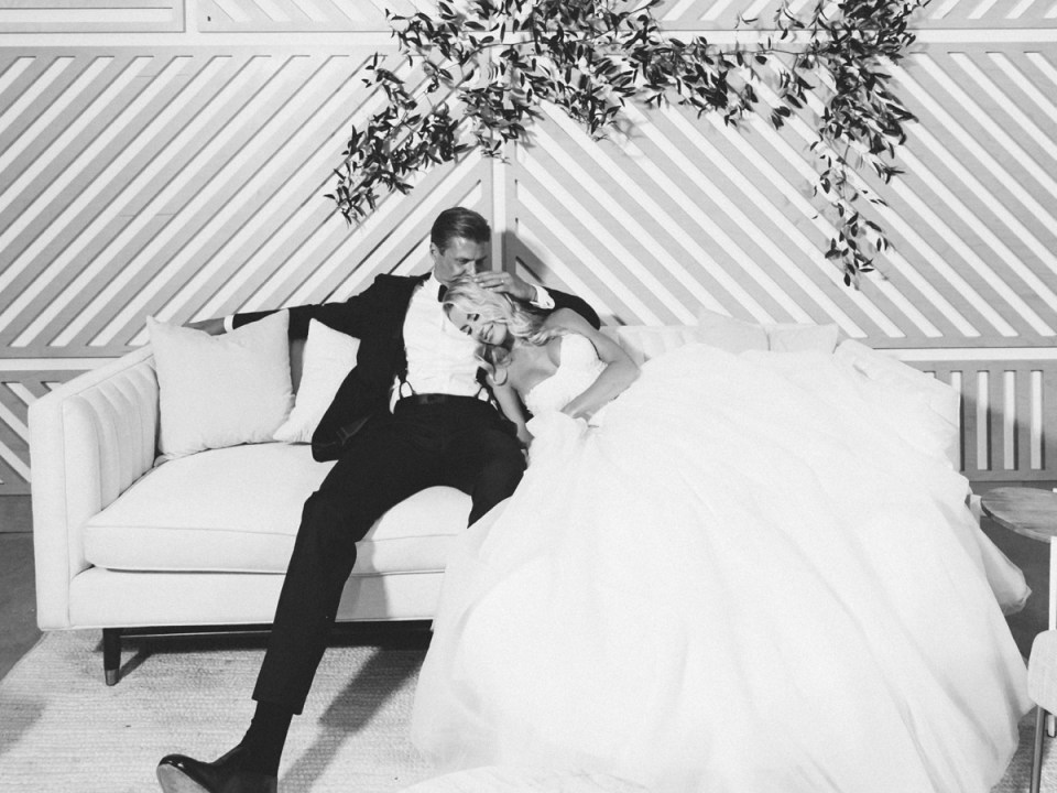 The Lane SD Wedding Venue | Bride and Groom at the end of the night | Classy bride and groom photos