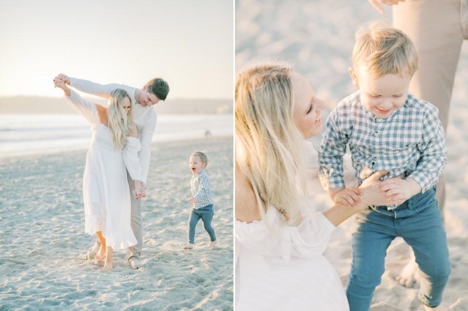 Wardrobe Inspiration   Family Photos On The Beach   Lifestyle Natural Poses