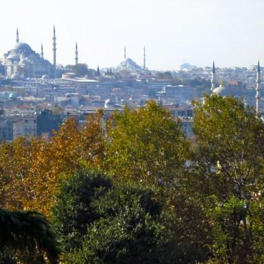 Views over the Bosphorus Topkapi Palace Istanbul, Copyright Mandy Sinclair