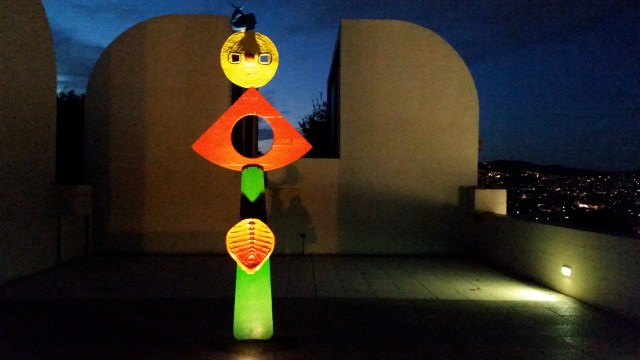 Joan Miro Foundation  Barcelona Spain  Copyright Mandy Sinclair