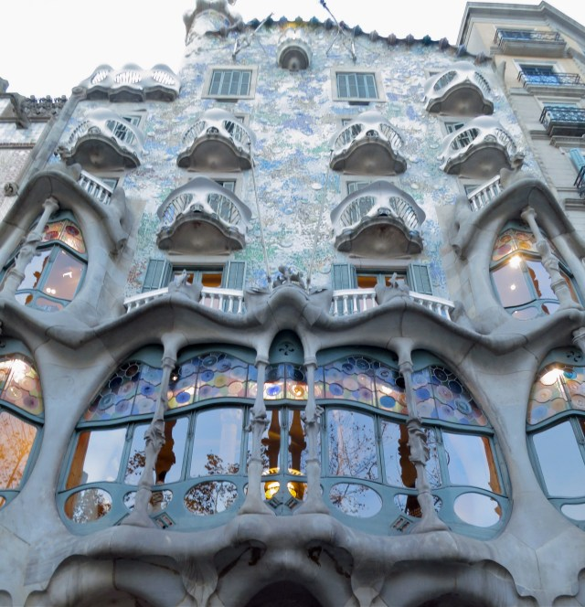 Casa Batlo  Barcelona Spain  Copyright Mandy Sinclair