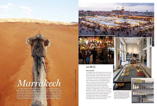 Donna Hay magazine Marrakech feature Page 1