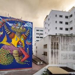 Danae Casablanca street art © Sbagha Bagha 2018