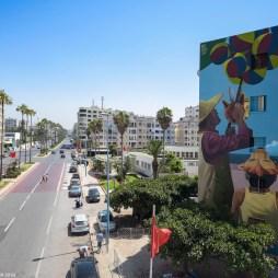 ed Casablanca street art © Sbagha Bagha 2018