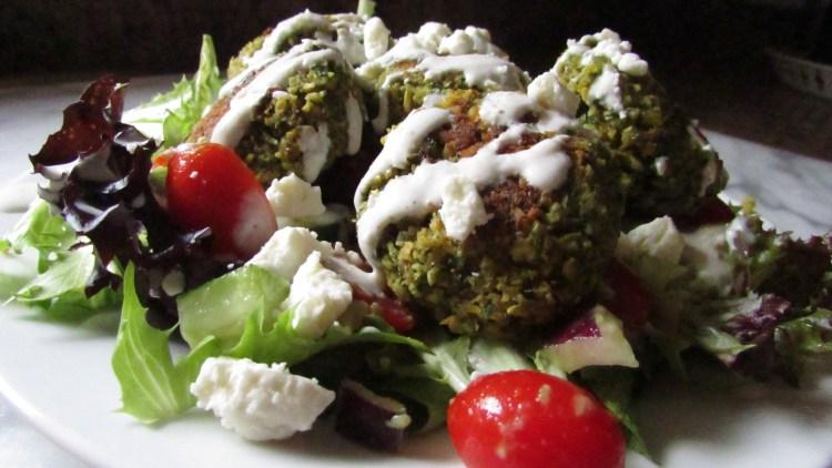 baked-falafel-salad-with-feta