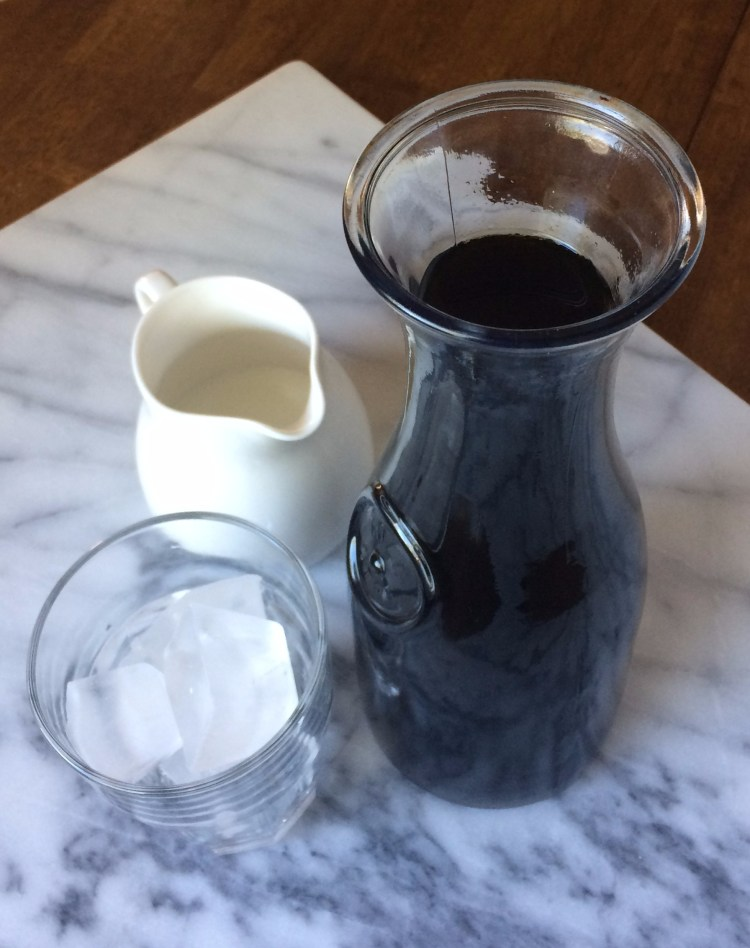 carafe of cold brew