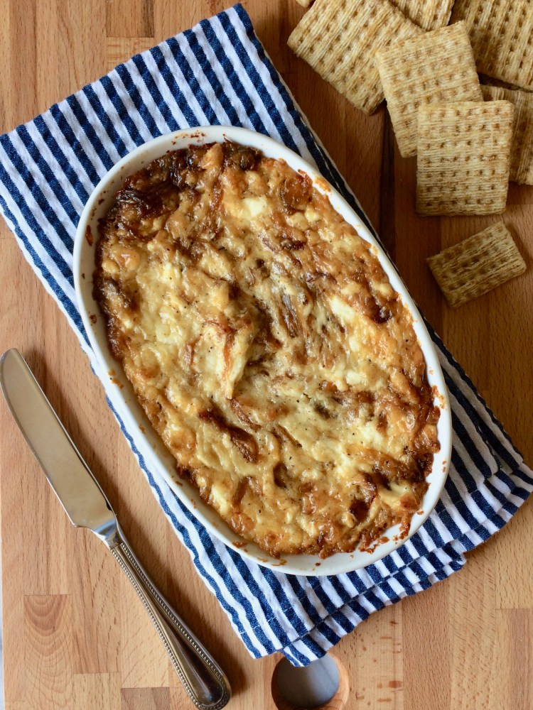 Baked Caramelized Onion Dip