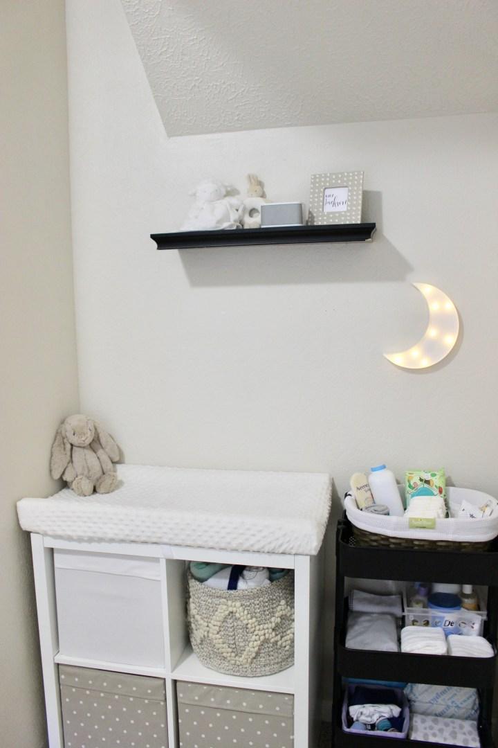 Baby Area in Parents' Room