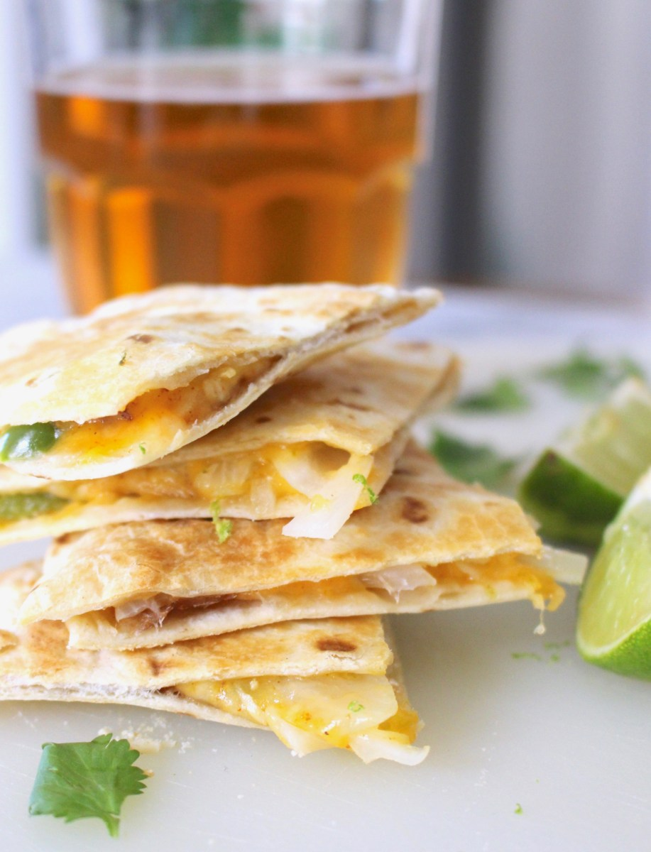 Sheet Pan Quesadillas