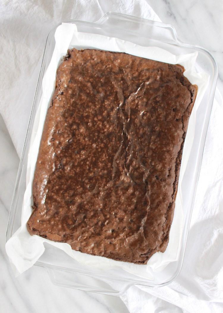 Brownies in 9x13