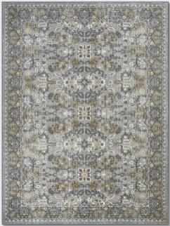Gray Oriental Area Rug