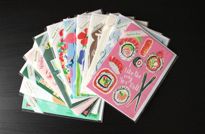 Greeting Card Stash