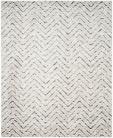 Neutral Chevron Area Rug